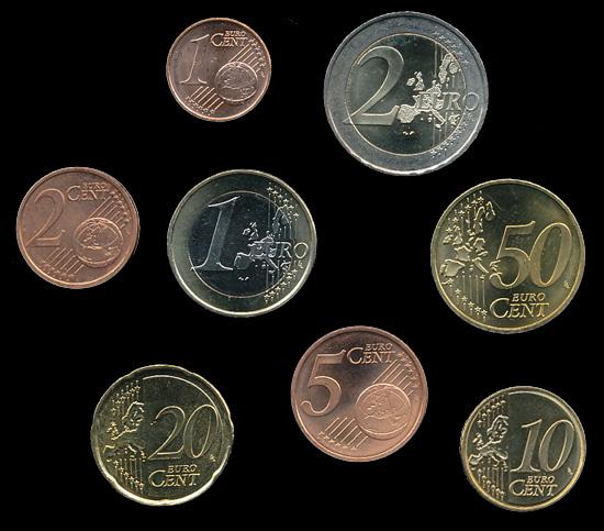 Euro Münzen Irland Ganzer Satz Lose